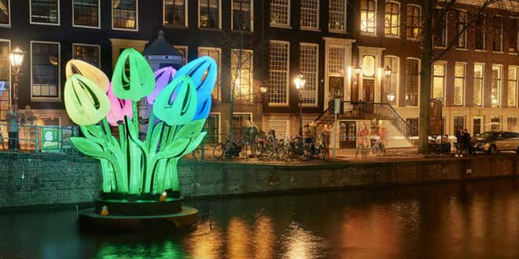 Amsterdam Light Festival - Semi Open Boot tour